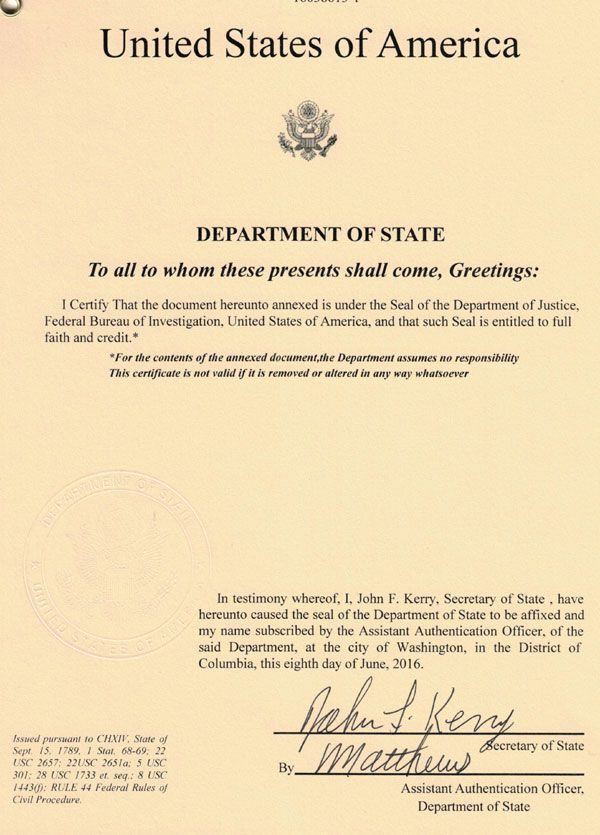 Apostille legalization in the us roca authentications llc - Us department of state office of authentication ...